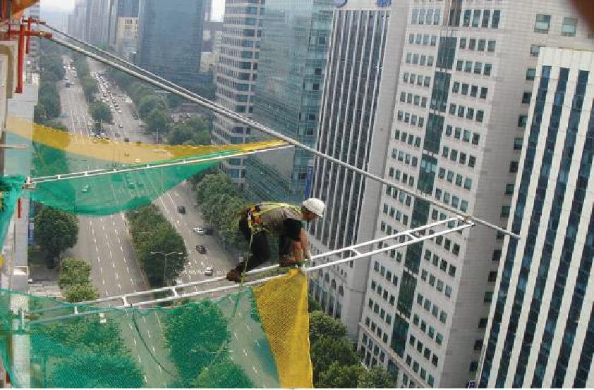 Lưới bảo vệ hàng dọc dạng FLYING-NET