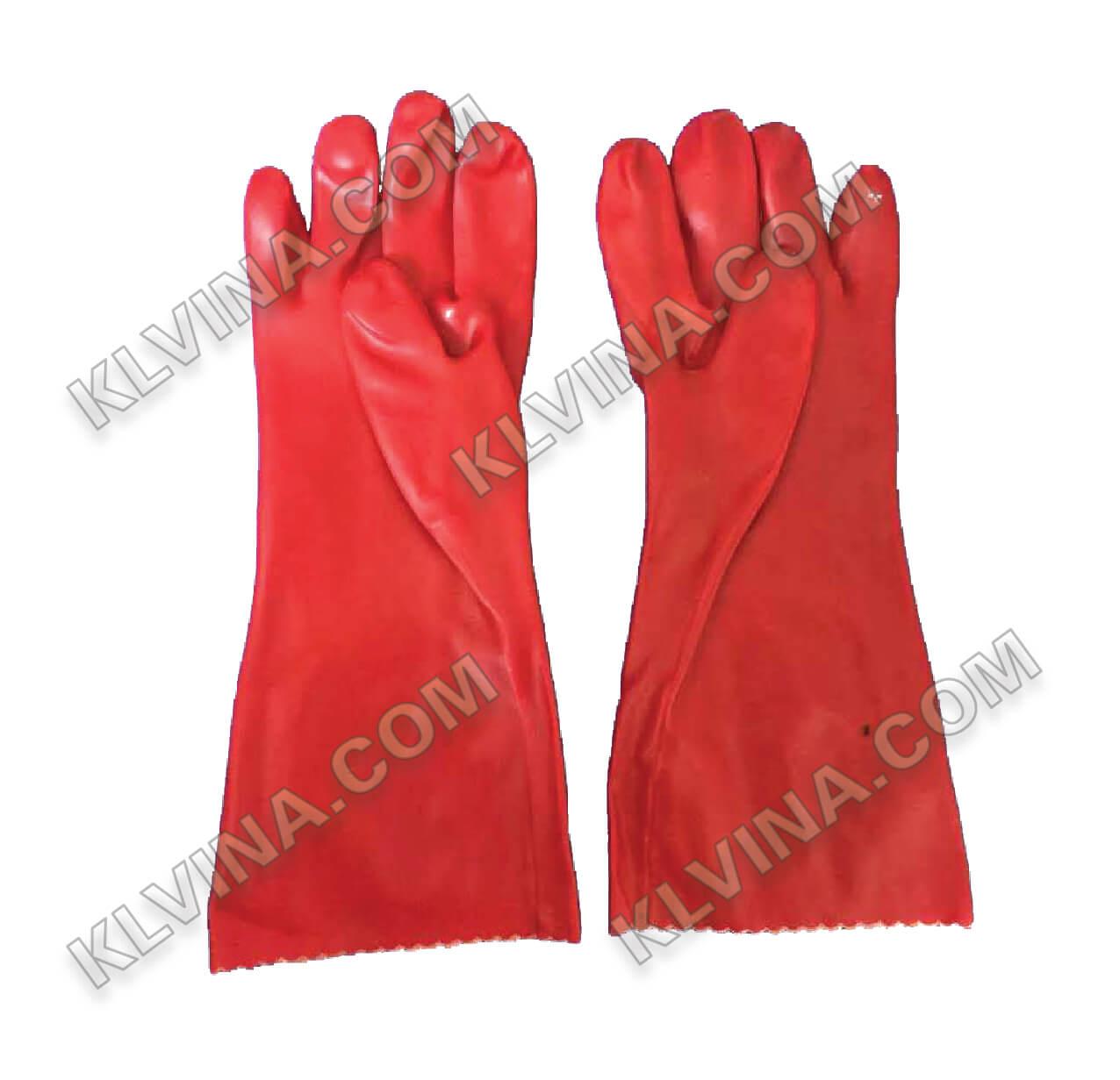 Găng tay chống axit, dầu