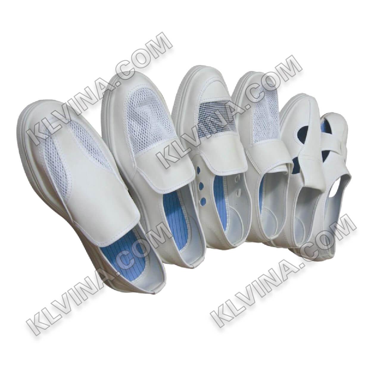 Giầy phòng sạch VN thấp cổ (giày lười)