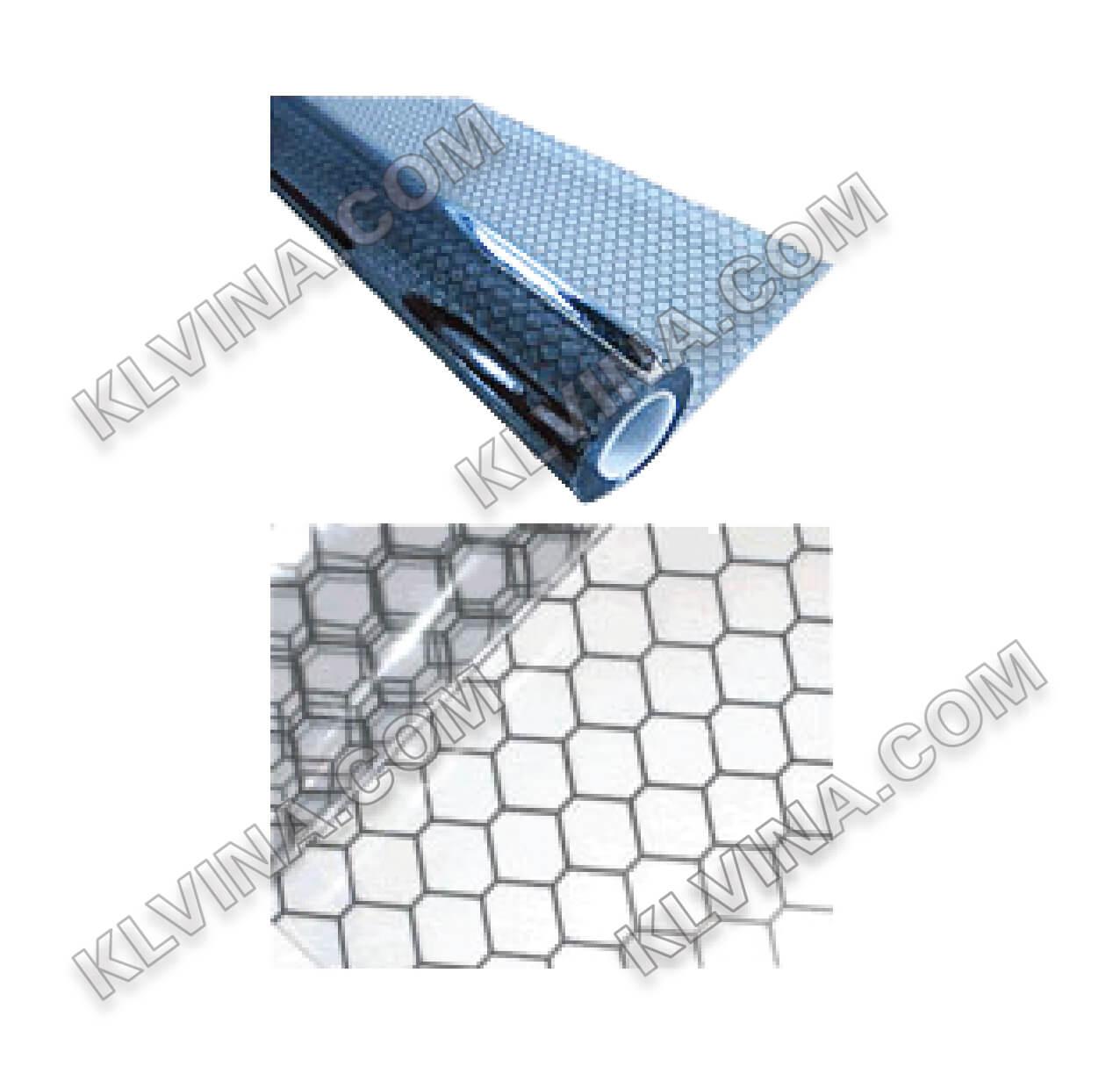 Màng nhựa PVc tĩnh diện  cáo 0.3mm x khổ (1370 x 30m x 0.3t)