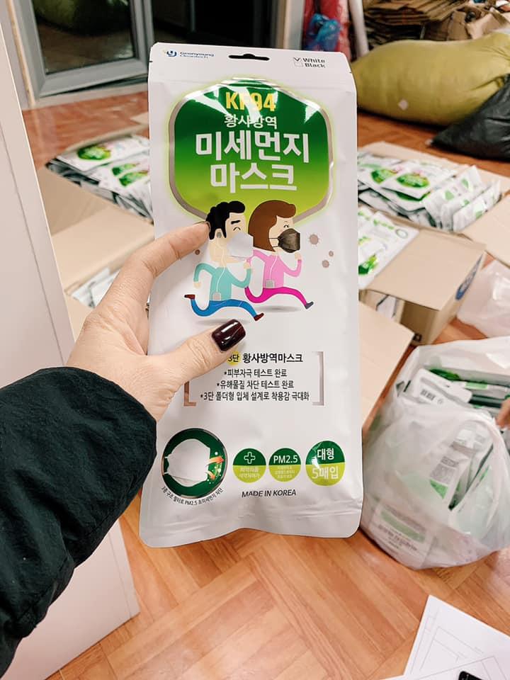 Khẩu Trang Người Lớn KF94 (Hàng Korea)