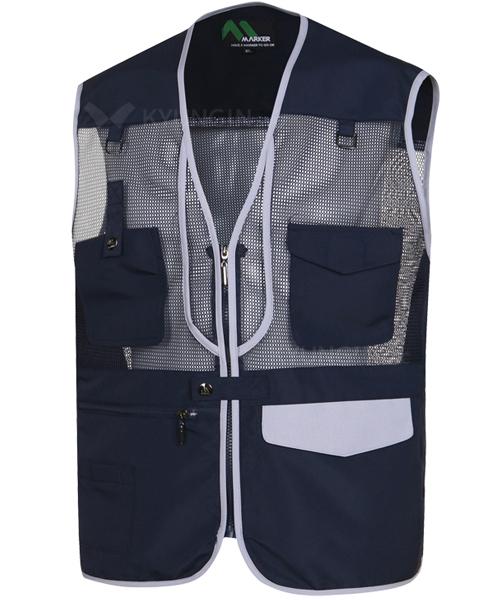 Áo gile KYUNGIN MK-145 lưới thoáng mát (5 màu)