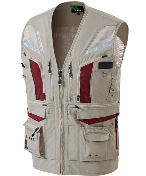 Áo gile KYUNGIN MK-451 lưới lưng có phản quang (4 màu)