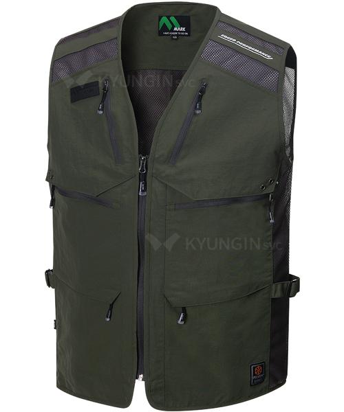 Áo gile KYUNGIN MK-541 có 6 túi hộp (4 màu)