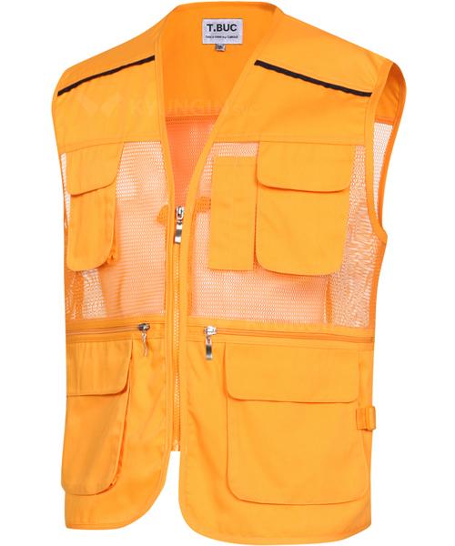 Áo gile KYUNGIN MK-181 lưới 4 túi (10 màu)
