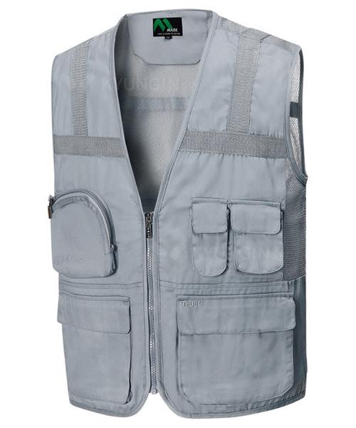 Áo gile KYUNGIN TA-102 dải phản quang lưng (2 màu)