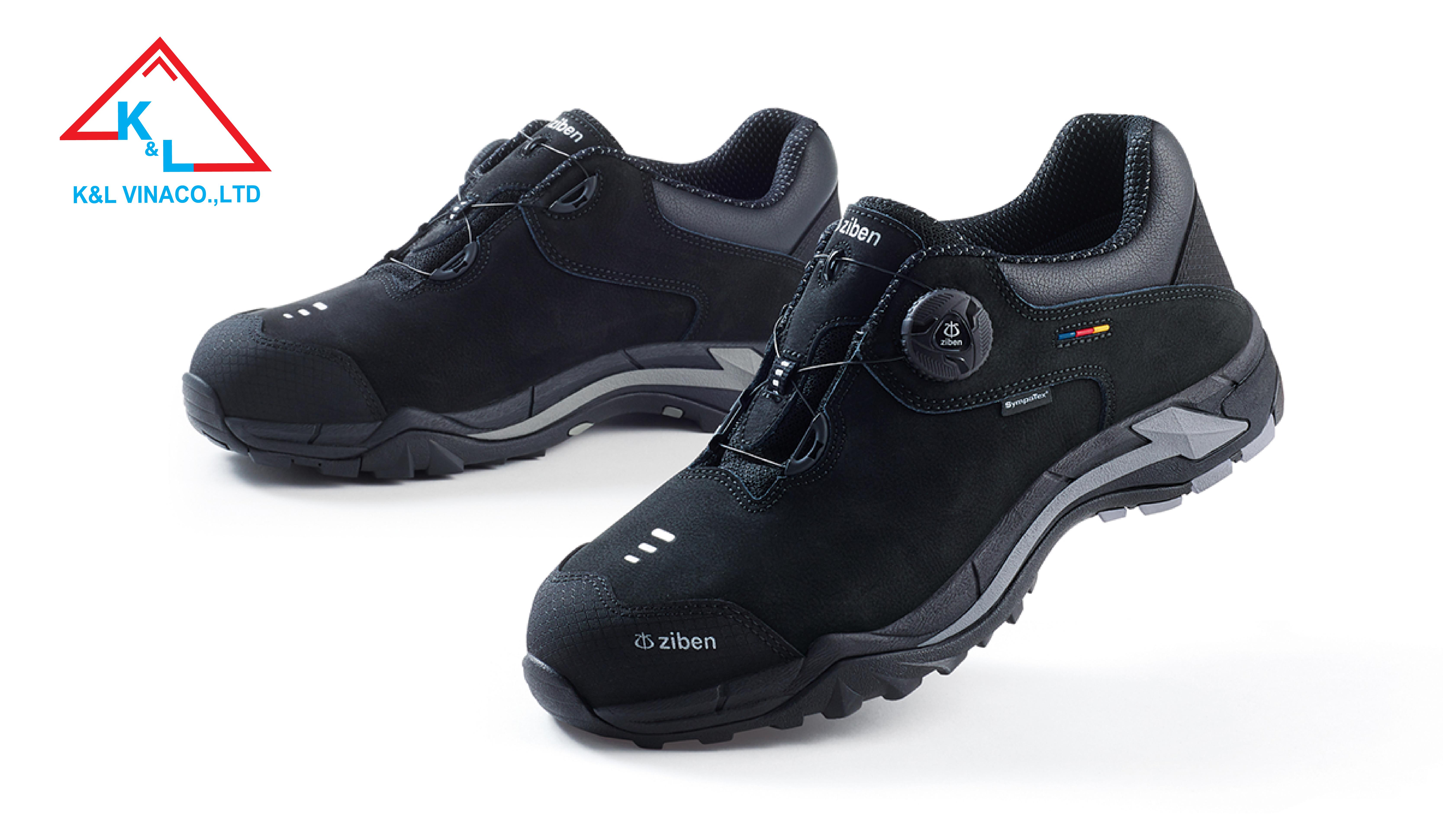 Giày Bảo Hộ Hàn Quốc Ziben 203