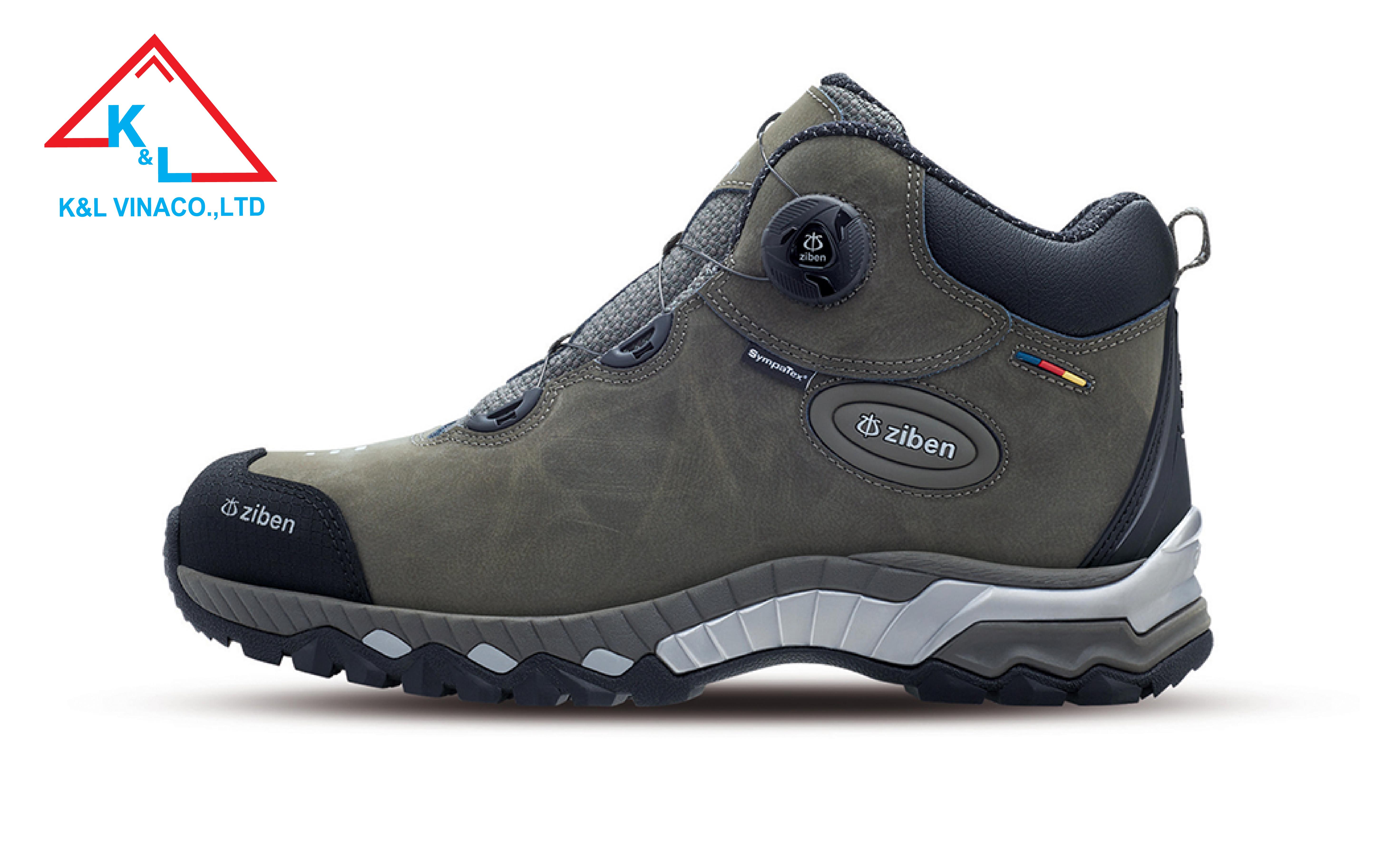 Giày Bảo Hộ Hàn Quốc Ziben 205