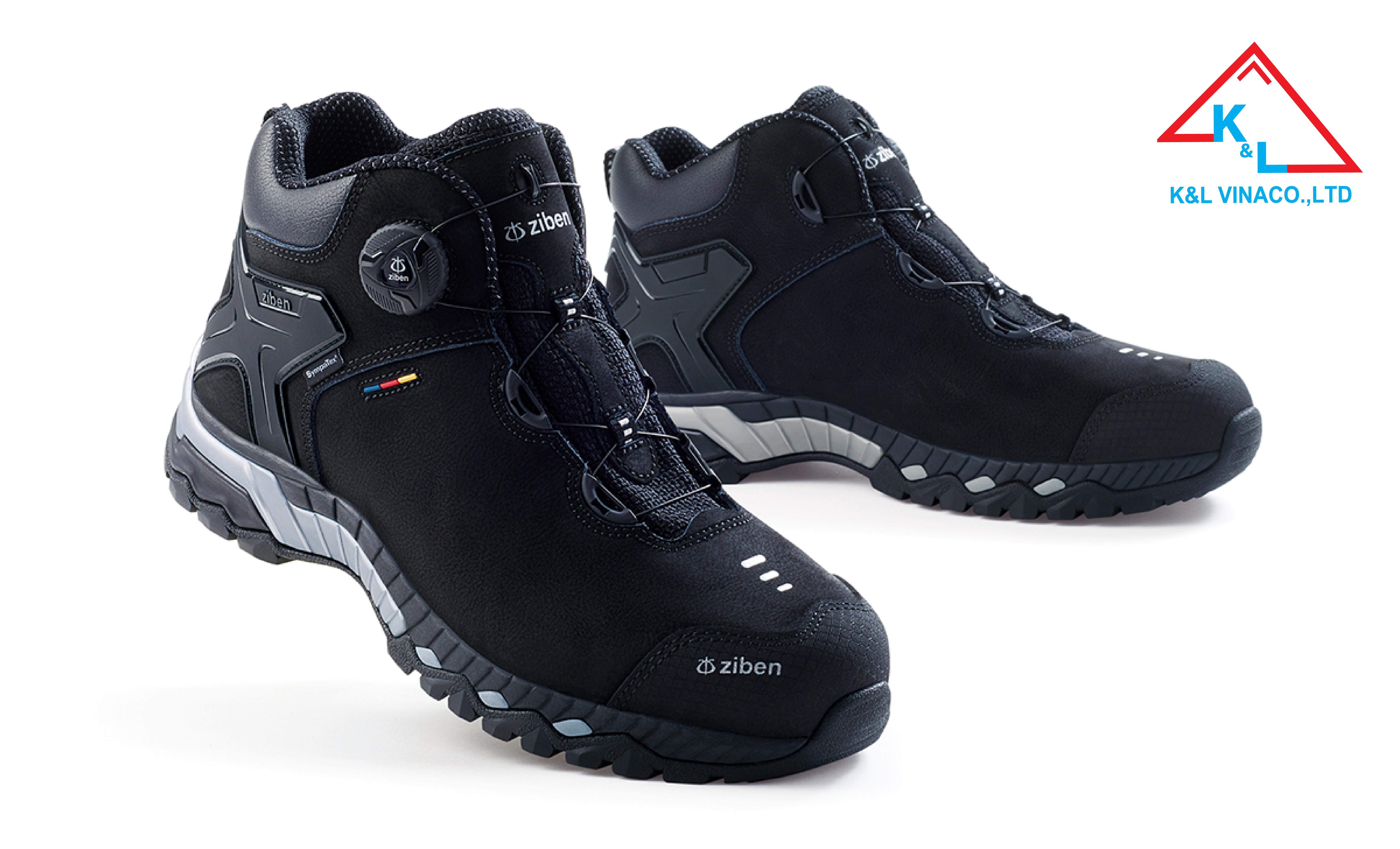 Giày Bảo Hộ Hàn Quốc Ziben 207